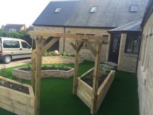 landscaping project washington