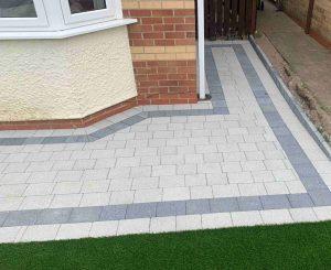 Sienna block paving