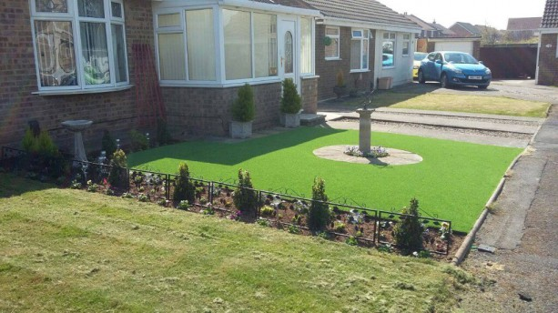 Artificial Lawns Project in Hartlepool, North East