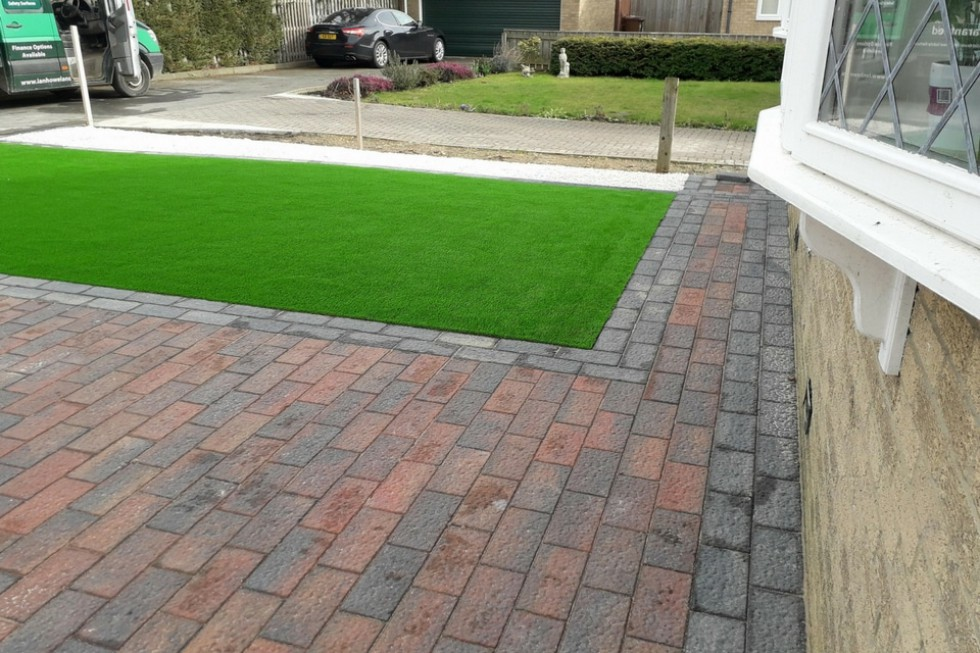 Block Paving & LazyLawn Artificial Grass Prudhoe