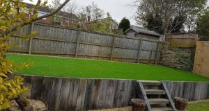 Raised Artificial Lawn