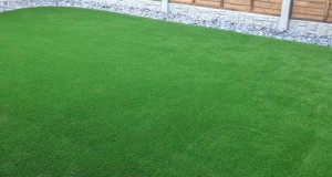 Artificial grass installation in Newcastle