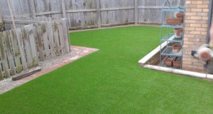 Artificial lawn installation – 2