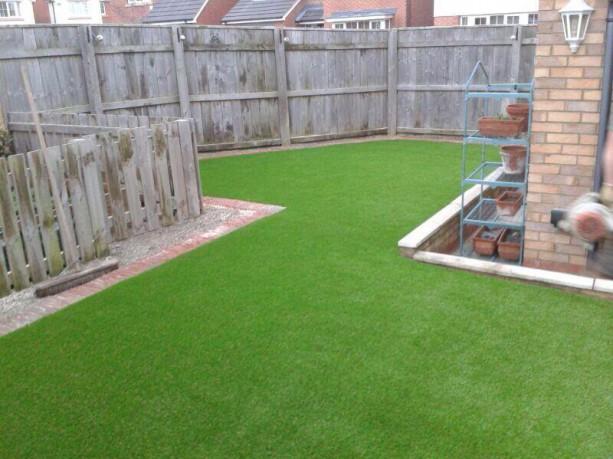 Artificial lawn installation – 2