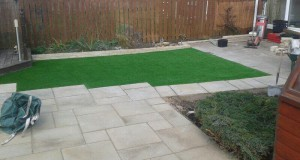 Fairstone Sawn Versuro Patio Paving & LazyLawn