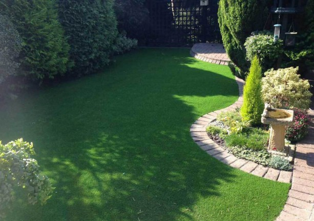Stunning artificial lawn installations by our team