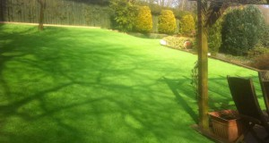 Rowlands Gill Artificial Lawn Transformation