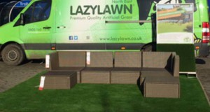 Gateshead Furniture Store Artificial Grass project.