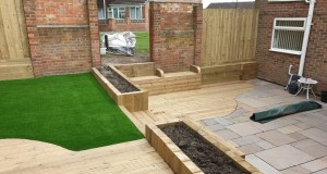 Indian Sandstone Paving, Decking & Artificial Lawn