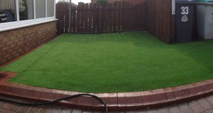 Gateshead LazyLawn Installation Wonder Yarn 26mm