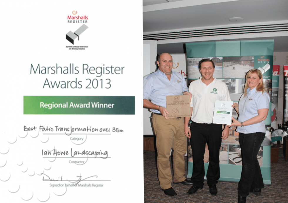 Marshalls Register – Best Transformation Winner 2013