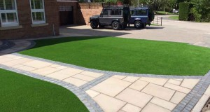 Durham Artificial Lawn & Marshalls Paving Project