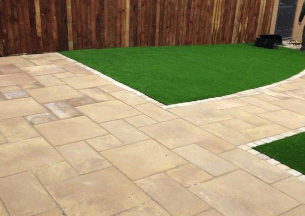 Patio Paving & Artificial Lawn in Newcastle