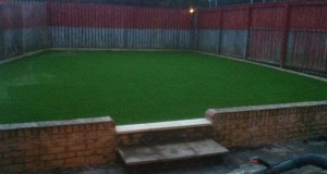 Stanley Artificial Lawn installation