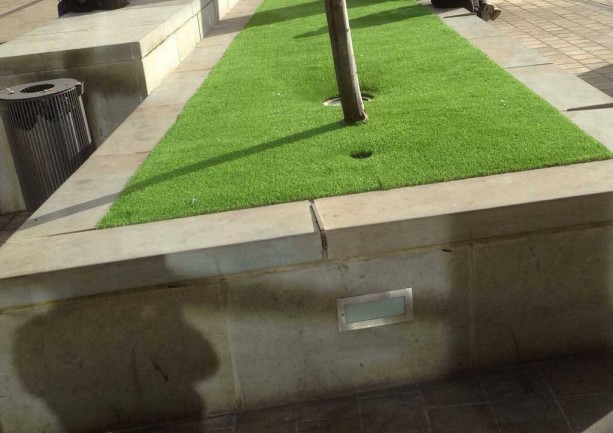 Commercial Artificial Grass Project